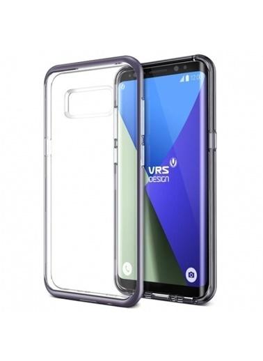 Galaxy S8 Crystal Bumper Kılıf Orchid Gray-Verus